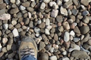 Heatsink Stones - Approximately golf-ball sized.